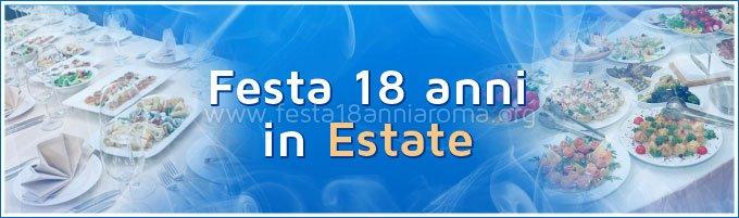 Feste 18 Anni Roma Estate Locali Per Organizzare Il Tuo