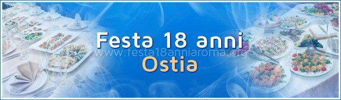 Festa 18 anni Ostia