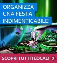 Offerte festa 18 anni Roma