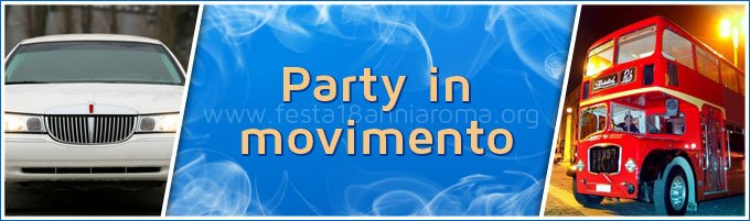 Party movimento festa 18 anni roma