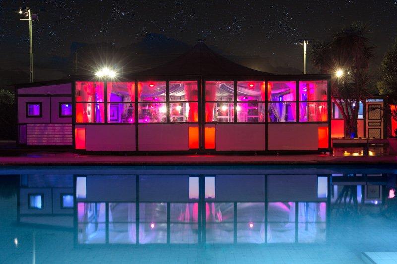 feste in piscina roma