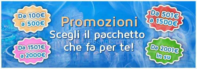 Festa 18 anni Roma promozioni