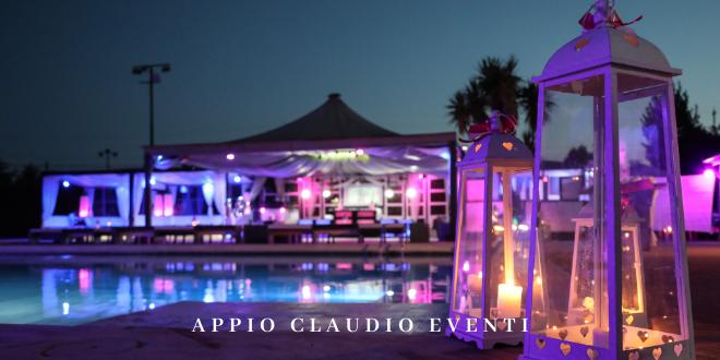 Appio Claudio Eventi locale con piscina per feste 18 anni