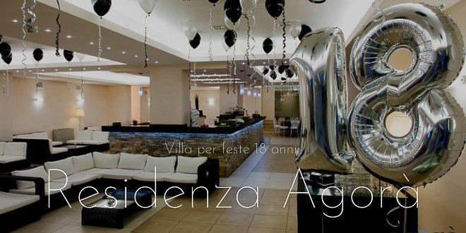 villa per feste 18 anni a Roma