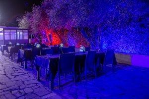 disposizione tavoli oasi eventi